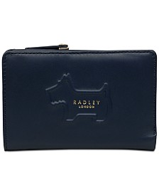 Radley London Radley Shadow Medium Zip-Top Leather Wallet