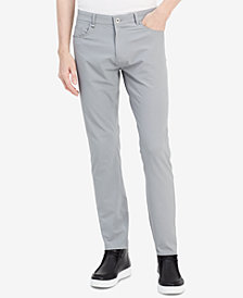 Calvin Klein Men's Infinite Tech 5-Pocket Slim-Fit Pants
