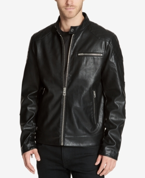 Guess Men's Faux-Leather...