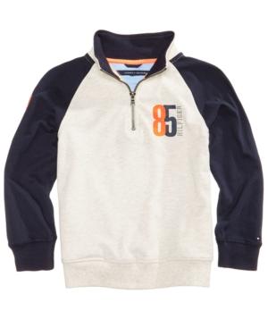 Tommy Hilfiger HalfZip Cotton Pullover Top Baby Boys (024 months)