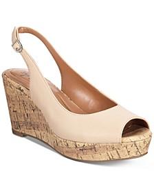 Sondire Platform Wedge Sandals, Created for Macy's