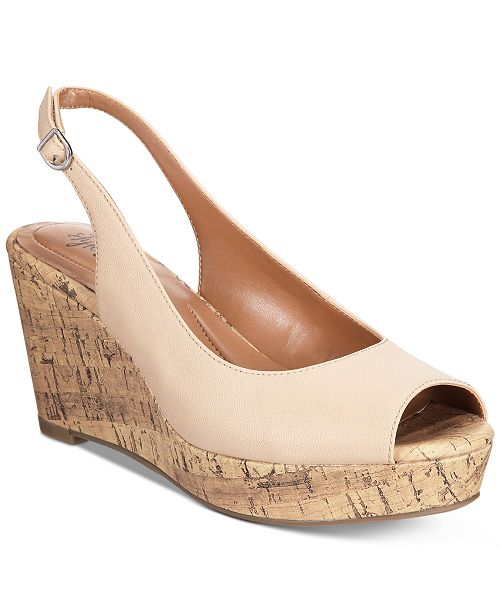 99a518753 ... Style & Co Sondire Platform Wedge Sandals, Created for Macy's ...