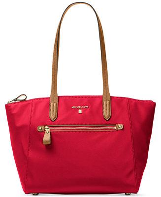 f602df951de82e MICHAEL Michael Kors Kelsey Medium Top-Zip Tote - Handbags & Accessories -  Macy&#