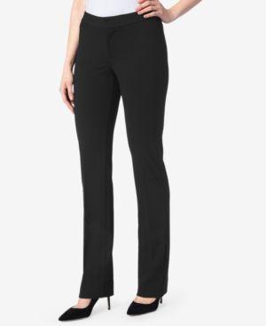 NYDJ Tummy-Control Trousers in Midnight