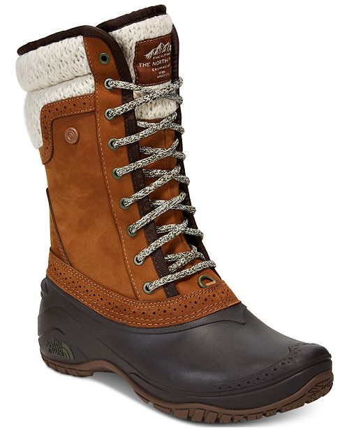 The North Face Women's Shellista Waterproof Winter Boots