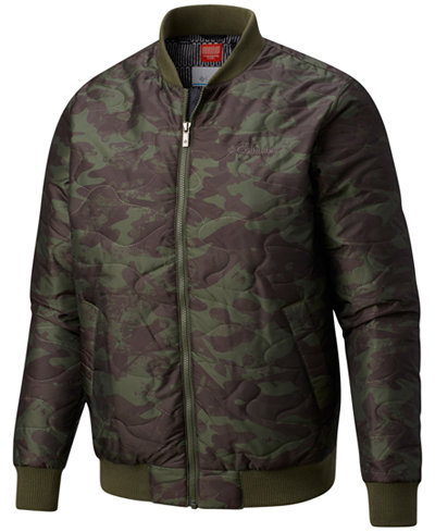 Columbia Men's Hawlings Hill Bomber Jacket