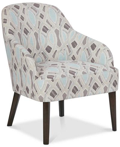 Delphine Accent Chair, Quick Ship