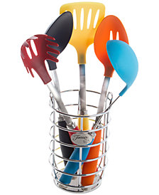 Fiesta 6-Pc. Multi Utensil Set with Crock
