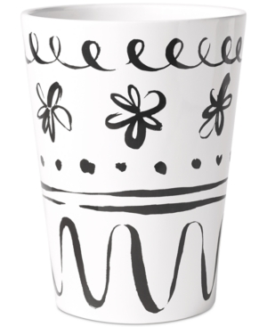 Image of kate spade new york Daisy Place Wastebasket Bedding