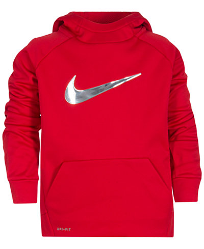 Nike Therma Training Hoodie, Little Boys - Sweaters - Kids ...