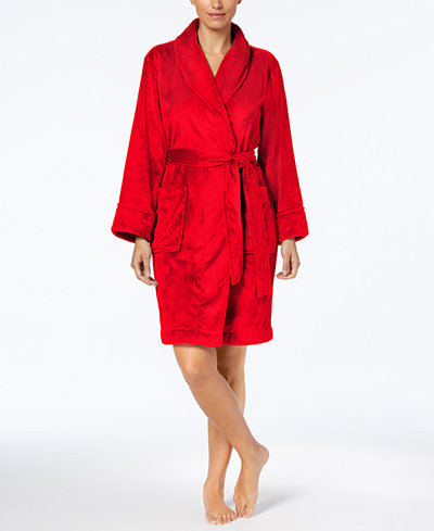 Charter Club Short Solid Robe, Created for Macy's