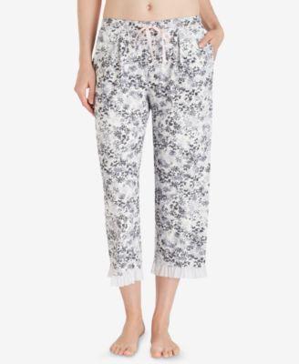 Sweet Things Printed Capri Pajama Pants