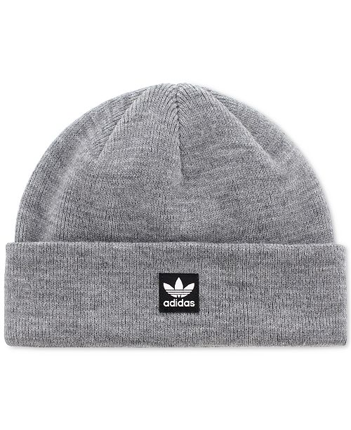 69e35b56526 adidas Men s Logo Patch Beanie   Reviews - Hats