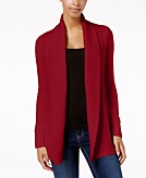 Charter Club Stitched Open-Front Completer Cardigan Created for Macys