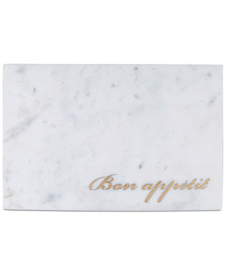 Bon Appetit Marble Board by Thirstystone