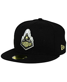 New Era Purdue Boilermakers AC 59FIFTY Fitted Cap