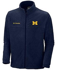 Columbia Men's Michigan Wolverines Flanker Full Zip Jacket