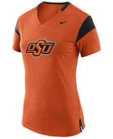 Nike Women's Oklahoma State Cowboys Fan V Top T-Shirt