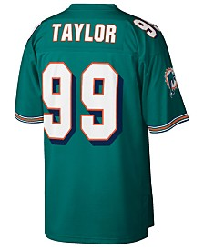 Mitchell & Ness Men's Jason Taylor Miami Dolphins Replica Throwback Jersey