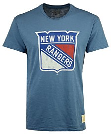 Retro Brand Men's New York Rangers First Line Logo T-Shirt