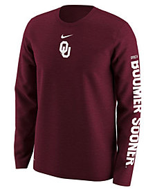 Nike Men's Oklahoma Sooners Fresh Trainer Hook Long Sleeve T-Shirt