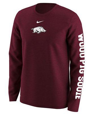 Nike Men's Arkansas Razorbacks Fresh Trainer Hook T-Shirt MBoJG