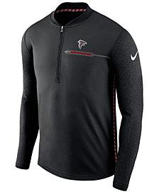 Nike Men's Atlanta Falcons Coaches Quarter-Zip Pullover