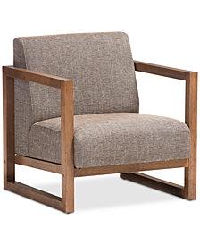 Idan Lounge Chair, Quick Ship
