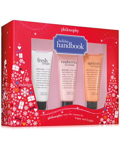 philosophy 3-Pc. Holiday Handbook Gift Set