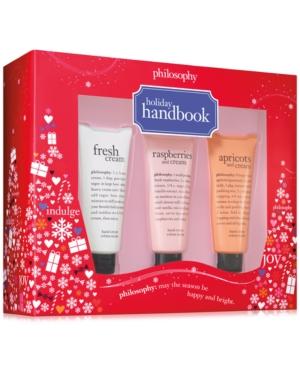 philosophy 3Pc Holiday Handbook Gift Set