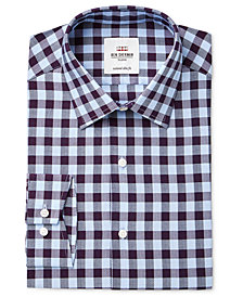Ben Sherman Men's Slim-Fit Check Dress Shirt