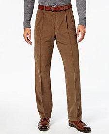 Lauren Ralph Lauren Men's Classic-Fit Corduroy Pleated Cuffed Hem Dress Pants