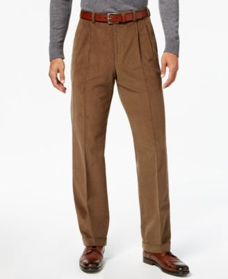 Mens Corduroy Pants Pleated Front 1gYjPSQS