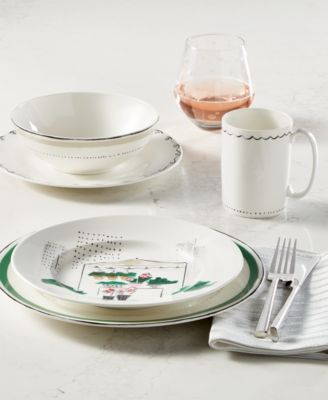Sundry Whimsical Scribbles Give A Special Sketch Style Look To Each Piece  Of The Kate Spade New York Union Square Dinnerware Collection In A Way That  Speaks ...
