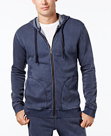 UGG® Men's Elliot Washed-Fleece Pajama Hoodie