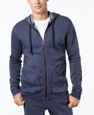 Ugg Men's Elliot Washed-Fleece Pajama Hoodie