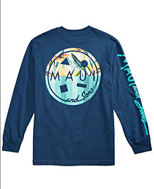 Maui and Sons Men's Tropicali Logo-Print T-Shirt