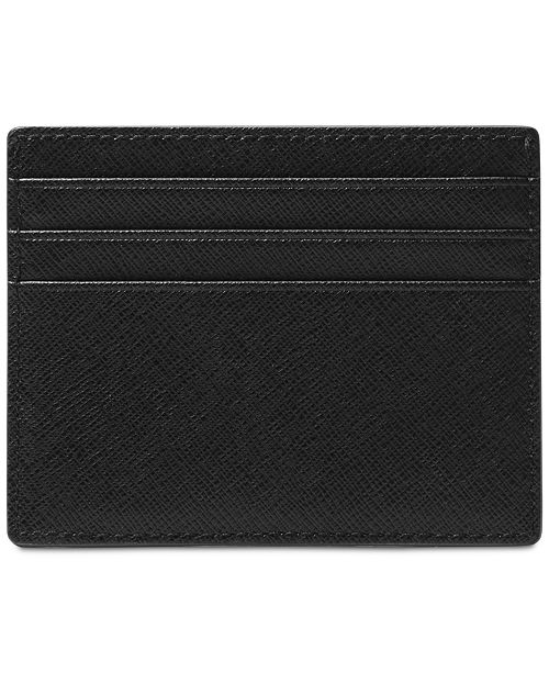8eeb34f26208c Michael Kors Men s Leather Card Case   Reviews - All Accessories ...