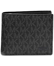 Michael Kors Men's Jet Set Billfold Wallet With Passcase