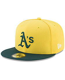New Era Boys' Oakland Athletics Players Weekend 59FIFTY Fitted Cap