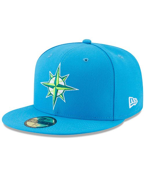 reputable site 8e5dd cbf1b ... italy new era seattle mariners players weekend 59fifty fitted cap  sports aa70e 9c362