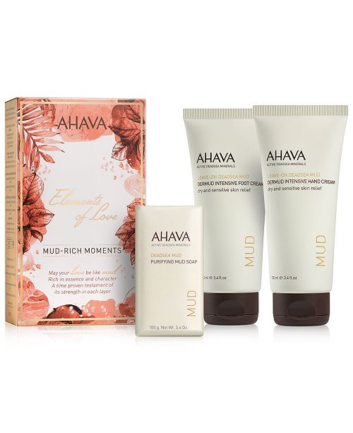 Ahava 3-Pc. Elements Of Love Mud-Rich Moments Gift Set