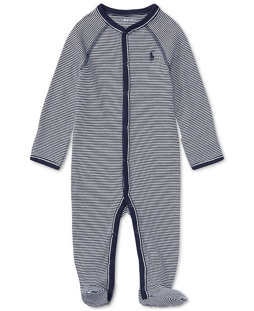5590d0a29 Polo Ralph Lauren Ralph Lauren Baby Boys Striped Cotton Coverall ...