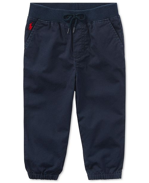 Polo Ralph Lauren Baby Boys Twill Pants