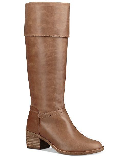 58951030f985 UGG® Women s Carlin Block Heel Tall Boots   Reviews - Boots ...