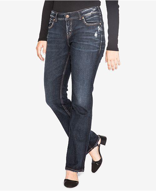 0e6946668dc Trendy Plus Size Elyse Slim Bootcut Jeans  Silver Jeans Co. Trendy Plus  Size Elyse Slim Bootcut Jeans ...