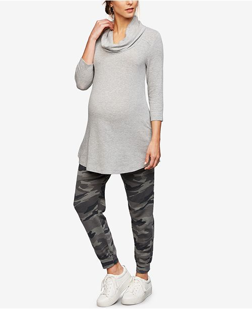3bc3fd6a328be Splendid Maternity Camouflage Jogger Pants & Reviews - Maternity ...