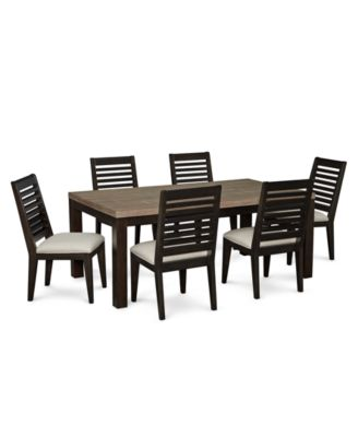 Lexington Dining Furniture, 7-Pc. Set (Leg Table & 6 Side Chairs)