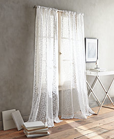 DKNY Halo Burnout Sheer Window Panel Pairs