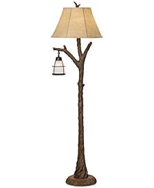 Pacific Coast Mountain Wind Floor Lamp